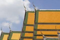 Schicht des Dachs an Sutat-Tempel lizenzfreie stockbilder