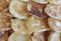 Schicht einfache Pfannkuchen stockbilder