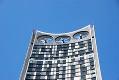 Schicht-Kontrollturm London Lizenzfreie Stockfotografie