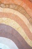 Schicht trockener Boden knackt Beschaffenheit und Hintergrund lizenzfreies stockfoto