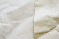 Schicht von Recycle knitterte Papierbeschaffenheit, eco lizenzfreie stockfotos