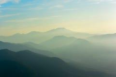 Schichten des Berges Lizenzfreies Stockfoto