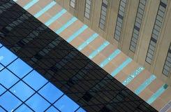 Schichten Gebäude Stockfoto