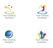 Schichts-Firma-Marke Lizenzfreies Stockbild