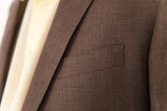 Schicke und stilvolle Klage Geschäft, Ausschnitt, klassisch, Eleganz stockfotografie