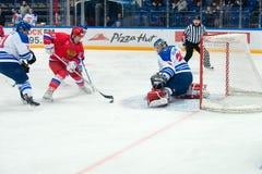 Schicken Sie den russischen nationalen Team Roman Ilyin nach (97) Stockfotos