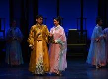 Schicken Sie sprachlosem Mitteilungtod Fest-moderne Drama Kaiserinnen im Palast Lizenzfreies Stockfoto