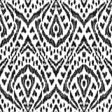 Schickes nahtloses Muster Boho lizenzfreie abbildung