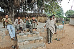 Schicksal der Khajuraho Leute lizenzfreies stockfoto