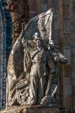 Schicksal eines Monuments in Russland lizenzfreie stockfotos