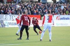 Schießen Radim Holub - Sparta Prag Lizenzfreies Stockbild