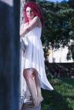 Schießen in Rom mit agnese Stockfotografie