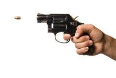 Schießen Sie abgefeuert werden stockbilder
