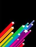 Schießen-Sterne Lizenzfreies Stockbild