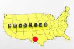 Schießen in Texas Lizenzfreies Stockfoto