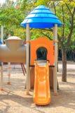Schieben Sie an Ð-¡ hildren Spielplatz den auf mehreren Einheiten Lizenzfreies Stockfoto