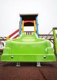 Schieben Sie auf einen leeren Spielplatz Lizenzfreie Stockbilder