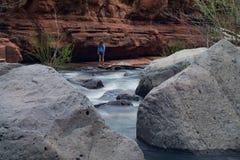 Schieben Sie Felsen-Nationalpark stockbilder