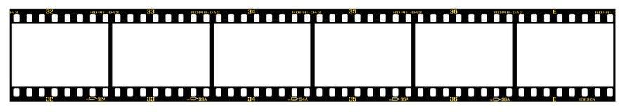 Schieben Sie filmstrip lizenzfreie abbildung