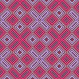 Schiefe geometrische rosa Fliese des blauen Grüns des Türkises stock abbildung