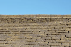 Schiefer-Dach-Fliesen Lizenzfreie Stockbilder