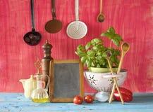Schiefer für das Kochen von Rezepten Lizenzfreies Stockfoto