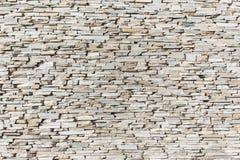 Schiefer-Steindekor-Wand Lizenzfreie Stockbilder