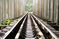 Schiene in Thailand Lizenzfreies Stockbild