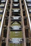 Schiene-Zug Stockbild