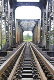 Schiene-Zug Lizenzfreie Stockfotos