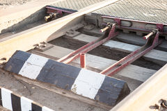 Schienenüberfahrt Stockbilder