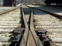 Schienen-Überfahrt Lizenzfreies Stockfoto