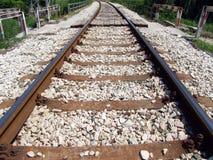 Schienen stockfotografie