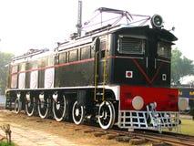 Schienen-Motor Stockbild