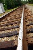 Schienen-Straße - Pfad zur Zukunft Stockbilder