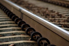 Schienen-Straßen-Spur Stockbilder