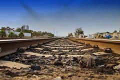 Schienen zum Osten Lizenzfreie Stockbilder