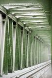 Schienenbrücke Stockbild