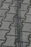 Schienenmarkierungen Stockfotografie