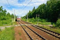 Schienenreise Lizenzfreies Stockbild