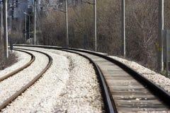 Schienenstraße Lizenzfreies Stockbild