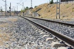 Schienenstraße Stockfoto