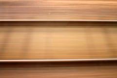 Schienenstrangunschärfe Lizenzfreie Stockfotografie