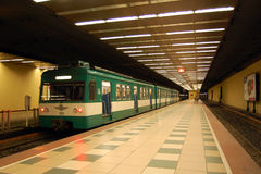 Schienenverkehr Stockfotos