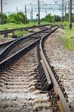 Schienenweg Lizenzfreie Stockbilder