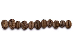 Schiera dei chicchi di caffè Immagine Stock Libera da Diritti