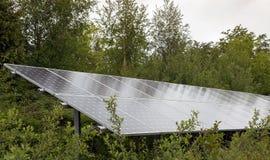 Schiera dei comitati solari Fotografie Stock Libere da Diritti