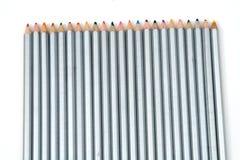 Schiera dei pastelli Fotografia Stock