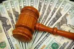 Schiera dei soldi Fotografie Stock Libere da Diritti