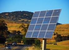 Schiera del comitato solare fotografia stock